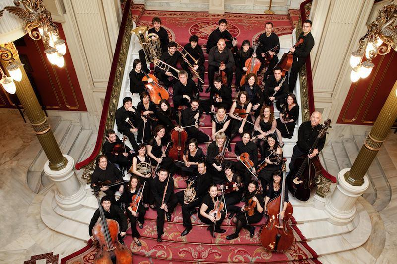 Bizkaiko Orkestra Sinfonikoko musikariak. Argazkia: BIOS