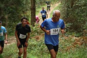 Arno Trail Sprint Race mendi lasterketako parte hartzaileak. Argazkilaria: Kalbaixoko Kofradia
