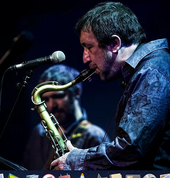 Gorka Benitez saxofonista. Argazkia: Daniel Escale