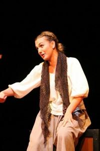 Etxebarria, 'Romeo y Julieta' antzezten. Argazkia: Pabellon 6