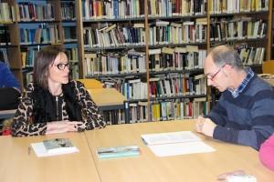 Ana Urkiza, 'Mamuak' ipuin liburuari buruzko irakurle klubean
