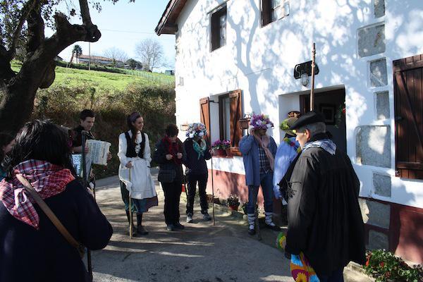 Santa Eskea, iaz, Berriatuan.