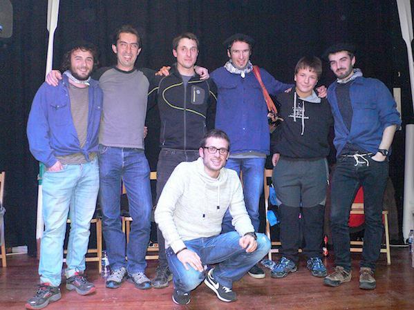Arnope eta Hernani2 taldeko kideak, Mutrikun