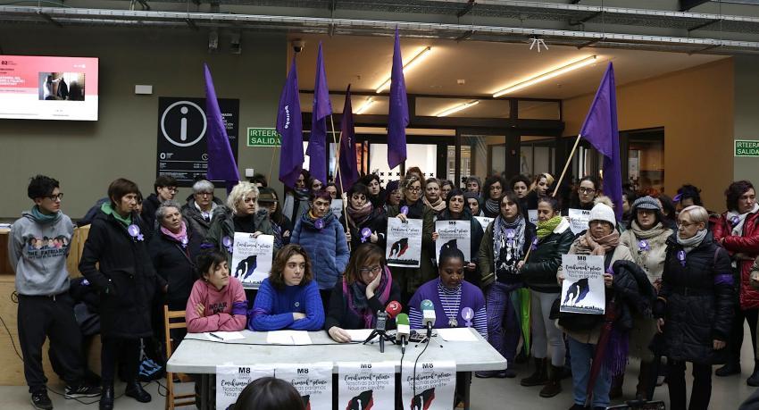 Mugimendu feminista greba martxoak 8