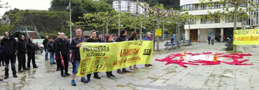 LABek Alamedan egindako protesta