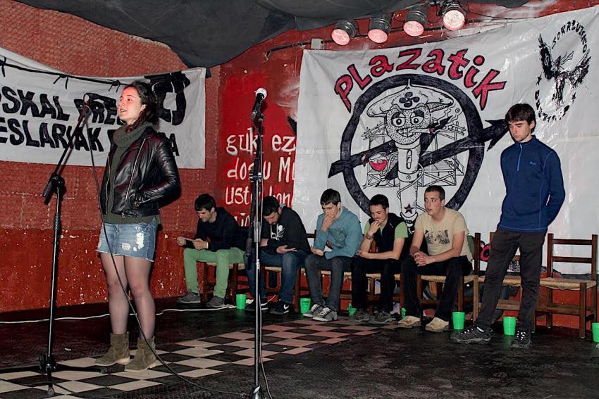 Plazatik Gaztetxera, Eibarko finalerdia