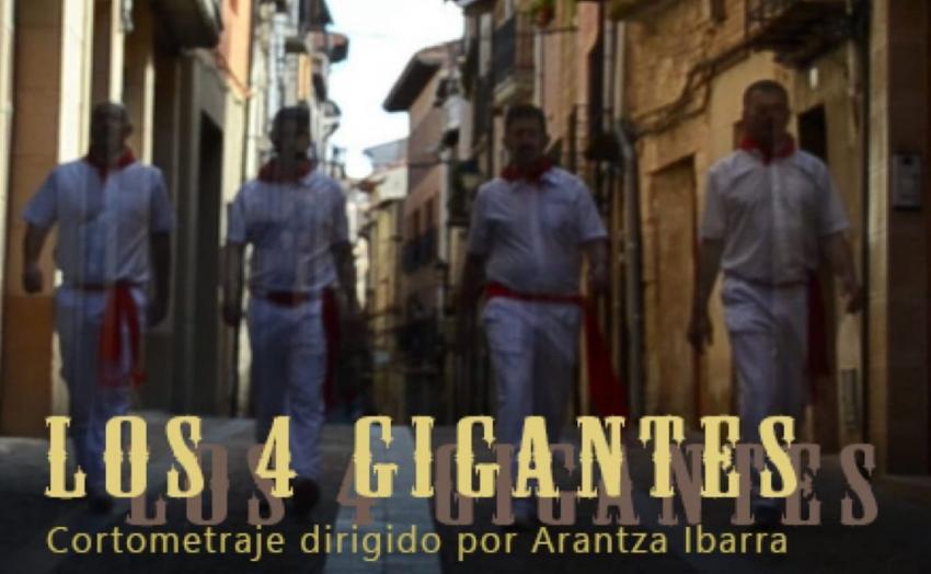 Los 4 gigantes film dokumentalaren fotograma bat. Argazkia: Arantza Ibarra