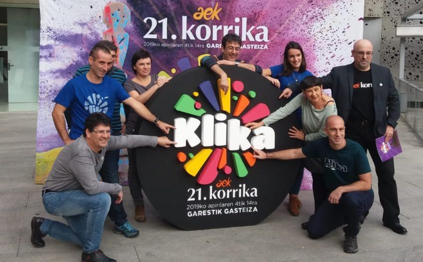 Korrika 21 AEK Klika