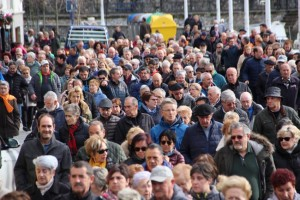 Bizkaiko Pentsionistak Martxanen manifestazioa