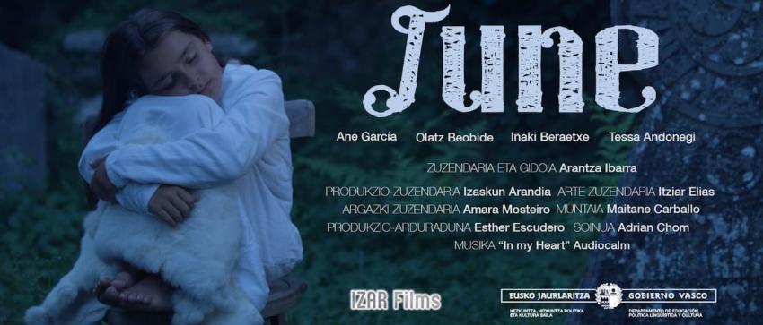 June film laburraren fotograma bat. Argazkia: Arantza Ibarra