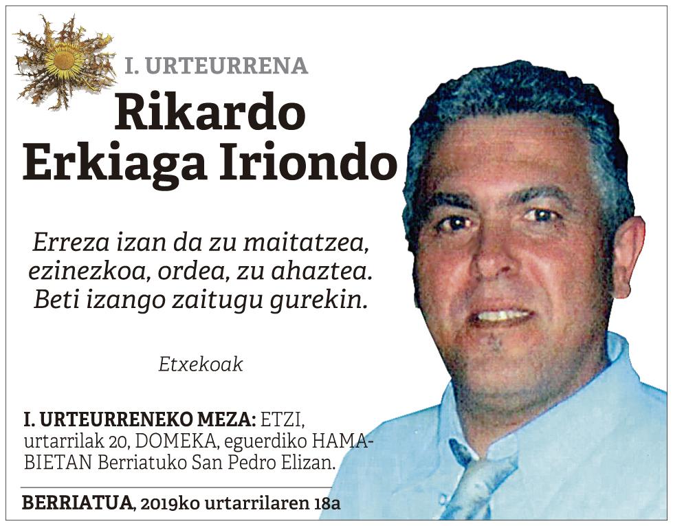 Rikardo Erkiaga Iriondo