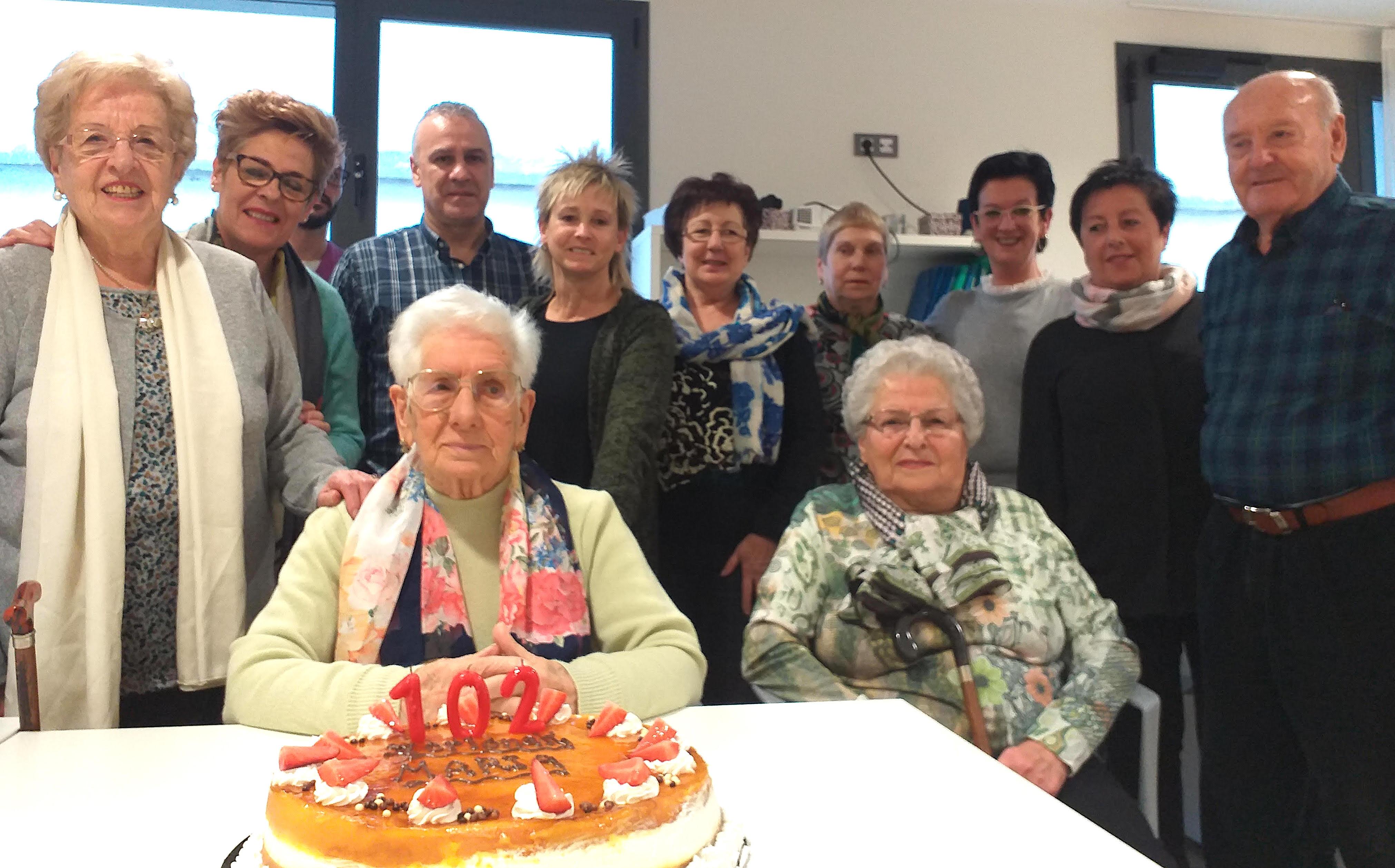 maria egiguren ondarroa 102 urte