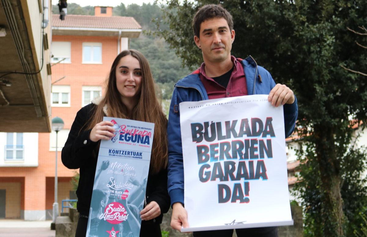 Xabier Gojenola Garazi Burgoa bulkada eguna