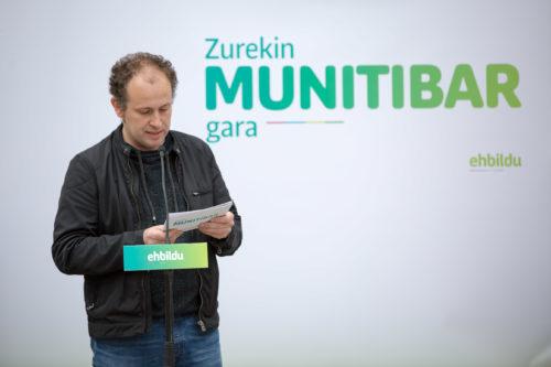 Arkaitz Goikoetxea Munitibako EH Bilduren alkategaia