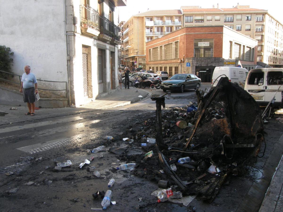 Lekeitio Antzar Egun 2009 istiluak