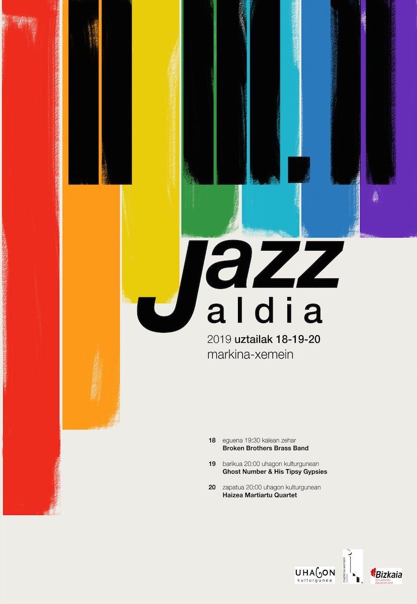 Markina-Xemeingo III. Jazz jaialdiaren kartela. Argazkia: Uhagon